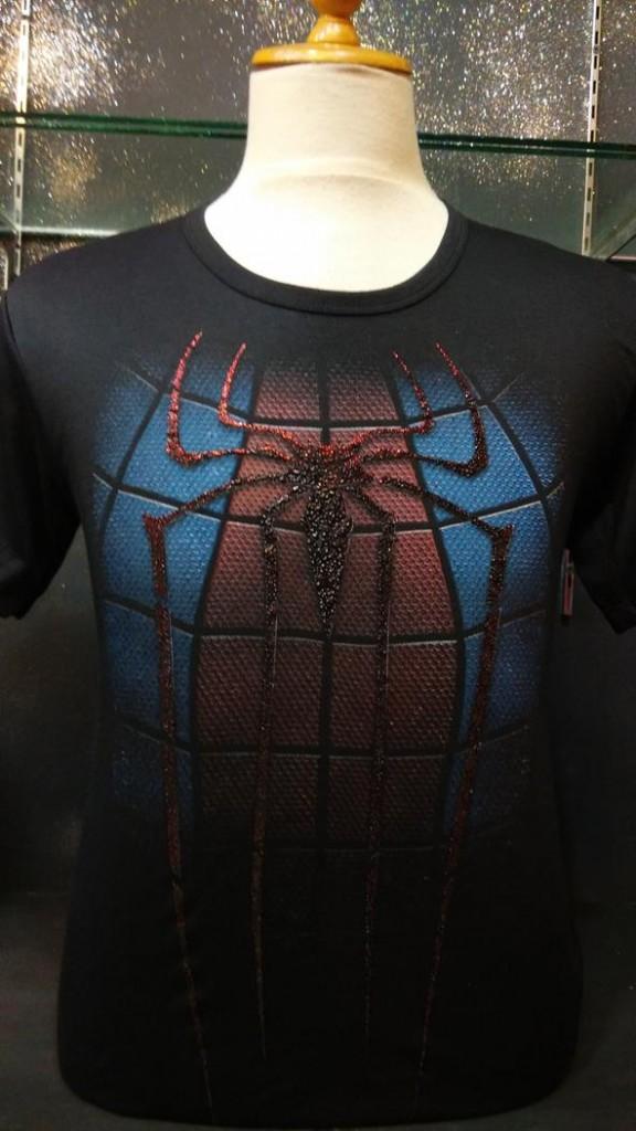 Jual Kaos Distro Spiderman Badan